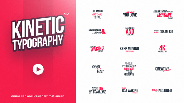 Knetic Typography (Full HD)