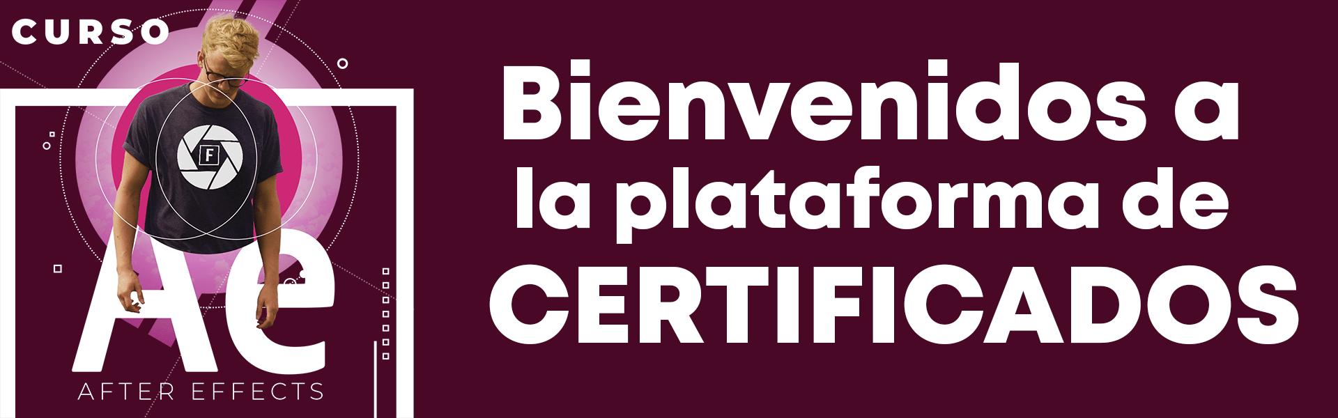 Plataforma Certificados