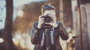 photographer, adult, woman